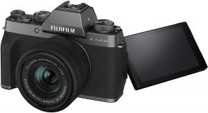 Fujifilm X-T200 Dark Silver Aparat Foto Mirrorless Kit cu obiectiv 15-45mm1