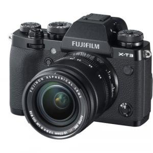 Fujifilm Aparat Foto Mirrorless X-T3 Kit cu Obiectiv Fujinon XF18-55mm f2.8-4 Negru1
