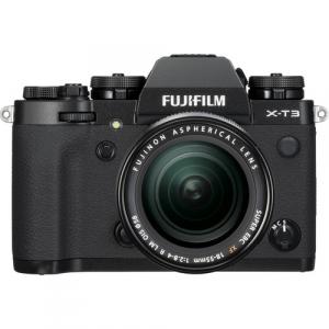 Fujifilm Aparat Foto Mirrorless X-T3 Kit cu Obiectiv Fujinon XF18-55mm f2.8-4 Negru0
