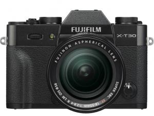 Fujifilm Kit Aparat Foto Mirrorless X-T30 cu Obiectiv Fujinon XF 18-55mm f2.8-4 Negru [1]