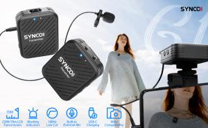 Synco G1 Lavaliera Wireless cu microfon incorporat5