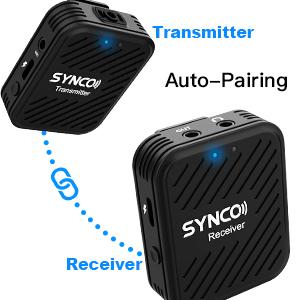 Synco G1(A2) Lavaliera Wireless Dubla [5]