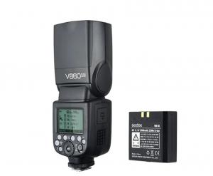 Godox Kit Blitz Ving V860IIN Nikon cu acumulator inlcus