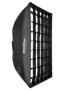 Godox Softbox Montura Bowens 60x90cm cu grid0