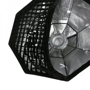Octobox cu grid montura Bowens 120 cm [2]