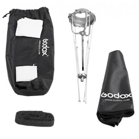 Godox Softbox tip umbrela pliabil montura Bowens 60x60cm [2]