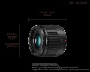 Panasonic Lumix G 25mm F1.7 Obiectiv MFT cutie alba [4]
