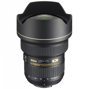 Pachet Nikon AF-S NIKKOR 14-24mm f/2.8G E+Lowepro geanta +NG trepied foto-video0
