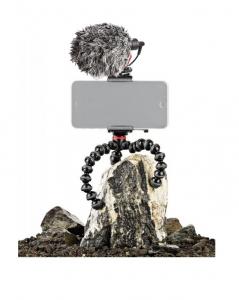 Joby GripTight Action Kit minitrepied flexibil cu telecomanda si microfon1