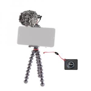 Joby GripTight Action Kit minitrepied flexibil cu telecomanda si microfon0