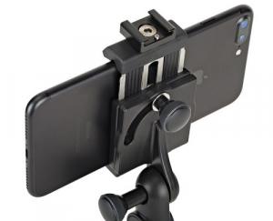 Kit vlogger pentru smartphone cu microfon4