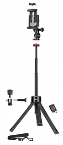 Joby GripTight PRO TelePod Minitrepied telescopic cu telecomanda
