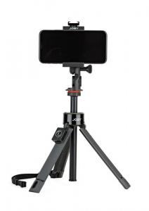 Kit vlogging pentru smartphone cu LED si lavaliera2