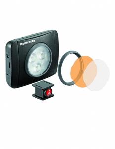 Kit vlogging pentru smartphone cu LED si lavaliera5
