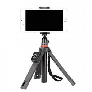 Kit vlogging Telepod pentru smartphone cu telecomanda si lavaliera4