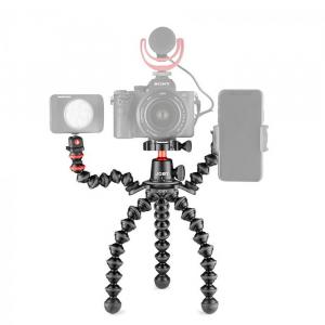 Joby GorillaPod 3K PRO Rig Kit Vlog cu 1 LED si Microfon5
