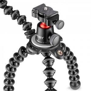 Joby GorillaPod 3K PRO Rig Kit Vlog cu 2 LED si Microfon4