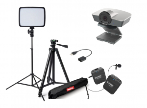 Kit Lector Camera WEB Full HD si lavaliera wireless0