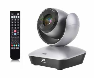 Kit Lector PTZ Full HD Zoom 22X USB cu lavaliera wireless si trepied [2]