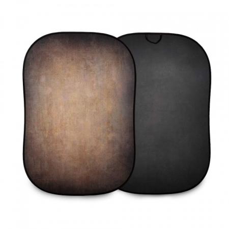 Lasolite Fundal portabil Walnut/Pewter 1.5 x 2.1m0