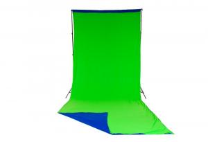 Lastolite fundal Chroma Key verde/albastru 3x7m2