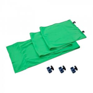 Lastolite Kit de conectare pentru panouri Chroma Key verde 3m [1]