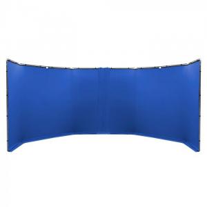 Lastolite Kit de conectare compatibil panouri Chroma albastru 3m1
