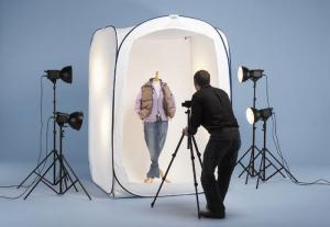 Lastolite cort pentru fotografiere persoane si haine 2m x 2m x 2.13m0