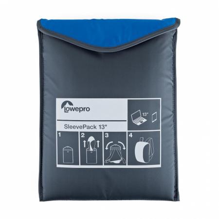 Lowepro SleevePack 13 Albastru/Gri rucsac pliabil