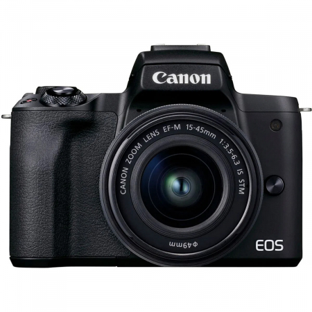 Canon EOS M50 II Aparat Foto Mirrorless 24MP Kit cu Obiectiv EF-M 15-45mm F/3.5-6.3 IS STM [0]