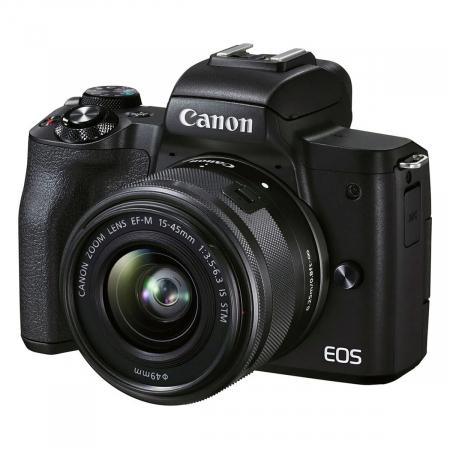Canon EOS M50 II Aparat Foto Mirrorless 24MP Kit cu Obiectiv EF-M 15-45mm F/3.5-6.3 IS STM [4]