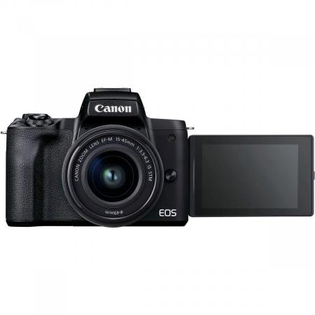 Canon EOS M50 II Aparat Foto Mirrorless 24MP Kit cu Obiectiv EF-M 15-45mm F/3.5-6.3 IS STM [2]