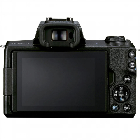 Canon EOS M50 II Aparat Foto Mirrorless 24MP Kit cu Obiectiv EF-M 15-45mm F/3.5-6.3 IS STM [3]
