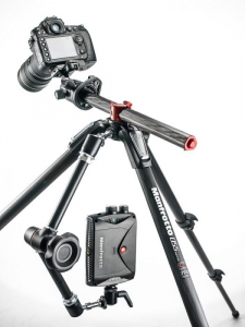 Manfrotto 055XPRO3-3W kit trepied foto2