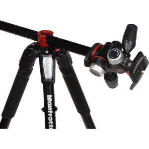 Manfrotto 055XPRO3-3W trepied foto cu cap 3Way0