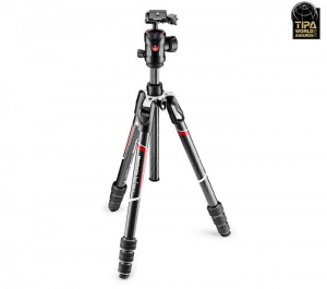Manfrotto Befree GT trepied foto carbon1