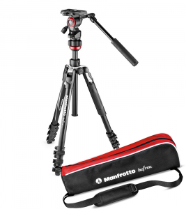 Manfrotto Befree Live Kit Trepied Video Lever0