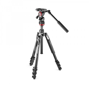 Manfrotto Befree Live Kit Trepied Video Lever4