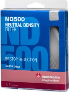 Manfrotto Filtru ND500 Slim 67mm4