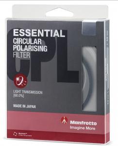 Manfrotto Filtru Polarizare Circulara Slim 82mm [1]