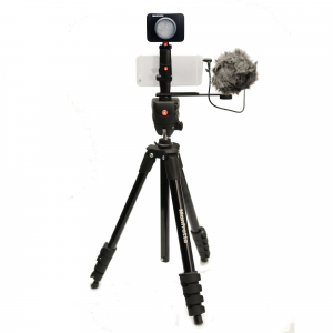 Manfrotto Kit pentru Vlogger LED3 Compact Action0