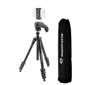 Manfrotto Kit pentru Vlogger LED3 Compact Action cu lavaliera1