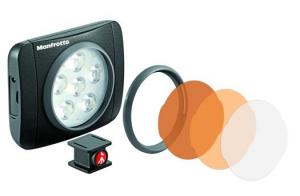Manfrotto Kit Vlogger LED6 cu lavaliera1
