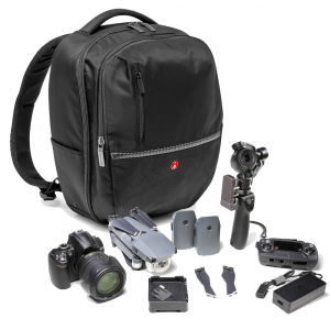 Pachet Sony Kit Aparat Foto Mirrorless Alpha A6400 24.2 MP cu Obiectiv 16-50mm+Manfrotto GPM1