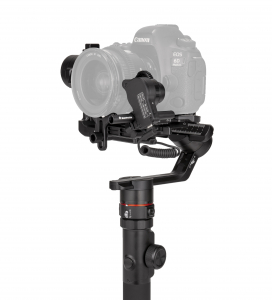 Manfrotto MVG460FFR stabilizator gimbal in 3 axe cu Follow Focus capacitate 4.6kg7