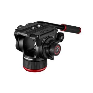 Manfrotto MVK504XTWINMC Kit Trepied video Carbon cu spreader de mijloc [1]