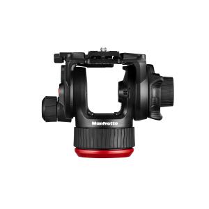 Manfrotto MVK504XTWINMC Kit Trepied video Carbon cu spreader de mijloc [2]