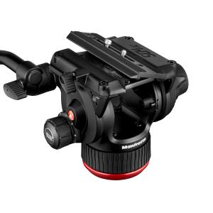 Manfrotto MVK504XTWINMC Kit Trepied video Carbon cu spreader de mijloc [6]