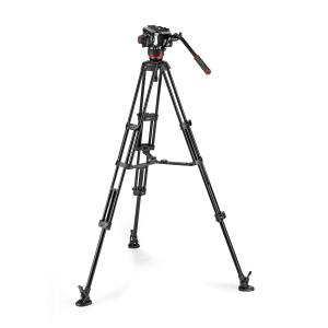 Manfrotto MVK504XTWINGA Kit Trepied video cu spreader de podea [9]