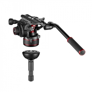 Manfrotto Nitrotech 612/ 635 Trepied video Fast Single Carbon [5]